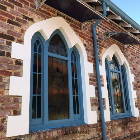 Recent windows frame repainting in Mt Hawthorn